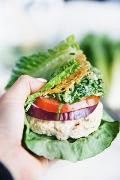 Baked Chicken Caesar Burgers - Lexi's Clean Kitchen