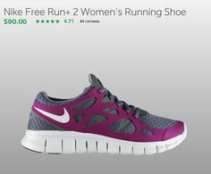 nike free's. Have these, great work out sneaks!