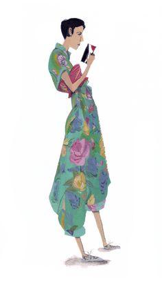 Fashion Studies by Jon Lau, via Behance