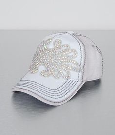 Olive   Pique Bling Hat - Women s Hats in Ivory Beige  12f52c7392c1