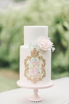 Jessica's Southern Wedding: The Cake