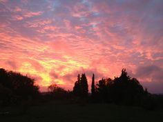 Cloudy sunrise, Gourvieille, France   wezzoo #WeatherByYou   2012-10-25