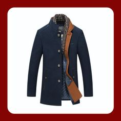 Make winter a bit brighter with this colorful jacket! So called Combo as it has a special part that makes a classy scarf effect. Wool and polyester blends for this mandarin collar winter jacket. Mandarin Collar, Winter Jackets, Classy, Coat, Awesome, How To Make, Men, Collection, Fashion