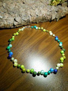 Neu unikat grün Polariskette blau Halskette Collier Polaris perlen kette türkis in Uhren & Schmuck, Modeschmuck, Halsketten & Anhänger   eBay