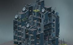 Created by a small team of architects turned game designers, Block'hood is a vertical city simulator with emphasis on ecology and decay. As a player, you take control of a neighborhood and develop your community within limited space. The challenge is provided by the requirements of the blocks you create, forcing you to satisfy the need of resources.