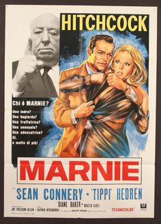 Marnie...My fave Hitchcock and frankly his best!