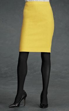 CAbi Curry pencil skirt -- what's not to love