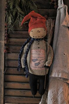 Hanging Snowman 1