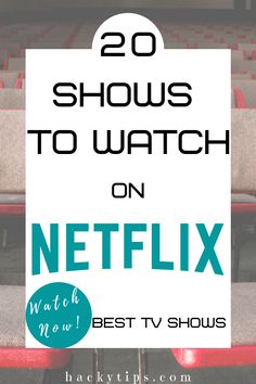 Netflix has wide variety of shows and movies. This list contains 20 must watch shows including OITNB, Friends, Breaking Bad and more. Netflix Show List, Netflix Shows To Watch, Watch Tv Shows, Netflix Movies, Movie List, Movies To Watch, Netflix And Chill, Movie Tv, Best Tv Shows