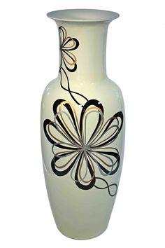 Porzellanbodenvase Modern FlowerH Ø 25 Shops, Modern, Flowers, Home Decor, Home Decor Accessories, Handarbeit, Homes, Tents, Trendy Tree