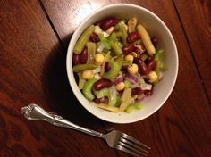 There are few recipes that are quicker or simpler to make than my Warm Four Bean Salad. Protein and fiber rich beans, crisp veggies, and a simple tangy dressing all combine into something truly del...