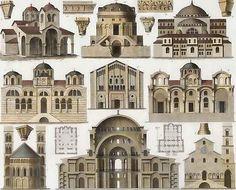 Byzantine Architecture- Elevation