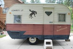 "'57 Tepe Vintage Rodeo Travel Trailer 12"" Good Condition   eBay"