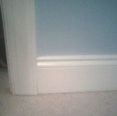 Image result for baseboard and door trim