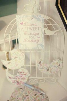 tweet baby...little birdies Birthday Party Ideas | Photo 8 of 30 | Catch My Party