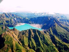 Mount Pinatubo Crater Lake #luzon #philippines #volcano