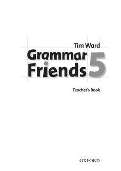 grammar.friends teacher book