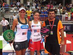 Primeras finalistas del #WPTAlicanteOpen ! Marta Marrero y Cata Tenorio ganan por 6-1 y 6-2 a Victoria Iglesias y Teresa Navarro.