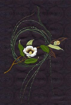 Silk Ribbon For Embroidery 5 Yards- Embroidery Design Guide Chinese Embroidery, Hand Embroidery Flowers, Crewel Embroidery, Hand Embroidery Designs, Embroidery Applique, Cross Stitch Embroidery, Embroidery Patterns, Machine Embroidery, Art Patterns