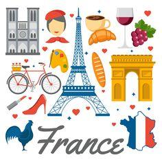 La classe de Fabienne: Les symboles de la France