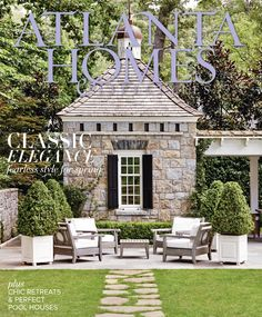 """Excited to have some of our work in the March 2016 issue! You'll see the fire surround and handrails we made in the """"Poolside Manor"""" feature."""