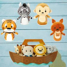 itty bittys® Noah's Ark Complete Play Set
