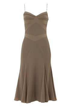 Amanda Wakeley 1920s-Style Wool and Silk Dress