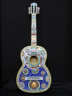 MUSICAL GLASS by Crooked Moon Mosaics, via Flickr