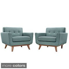 Absorb Armchair Wood (Set of 2)