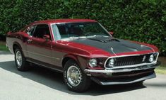 1969 Ford Mustang Mach 1.