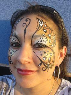 Leopard Butterfly - Whitney' Body Art