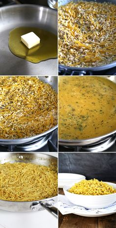 """Homemade Gluten Free """"Rice a Roni""""—Step by Step"""