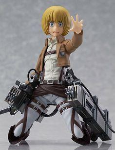 Amazon.com: Good Smile Attack on Titan: Armin Arlert Figma Action Figure: Toys & Games
