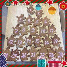 Tein työpaikalle joulukalenterin Muumipeikosta. Kaikki saa kaksi piparia :) - by Johanna -- #Piparkakku #Joulu #PipariBattle2013