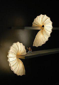 Israeli Designer Ayala Serfaty's Sea-Inspired Shelf Lamps