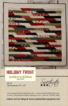~ Holiday Twist Quilt Pattern