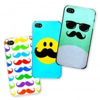 iphone mustache case - media | Five Below