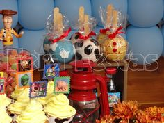 Awesome Toy Story Party. See more party ideas at CatchMyParty.com. #toystory #partyideas