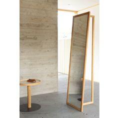竹材のコートハンガーミラー Big Mirror In Bedroom, Dressing Table, Minimalism, Divider, Interior, Furniture, Home Decor, Decoration Home, Room Decor