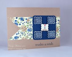 Discover Stamping: Happy Day.  Using the new Petite Curly Label Punch! #stampinup #birthday