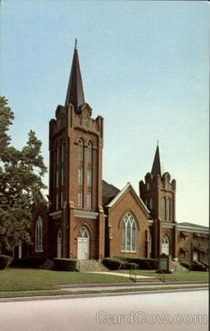 Cherokee Avenue Baptist Church, Gaffney, SC