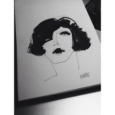 #illustration #face #myself