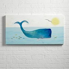 Whale Wall Art | The Land of Nod