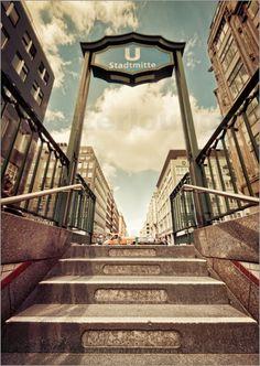 Poster Berlin Stadtmitte | 02