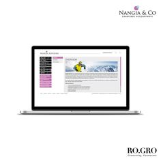 Ro.Gro developed a responsive website for the reputed Indian financial advisory firm Nangia Advisors. The website design and functionality is based on their existing visual identity, which is photorealistic and focuses on a 'sportsman's spirit'. Check out the website on: http://nangiaadvisors.com/