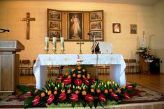 Church Altar Decorations, Table Decorations, Rose Flower Arrangements, Home Decor, Altar Flowers, Funeral Flower Arrangements, Creative Flower Arrangements, Altar, Floral Arrangements