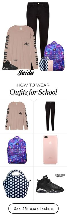 """""""Jaida OOTD for School!"""" by thetotefamily on Polyvore featuring Victoria's Secret and Dickies"""