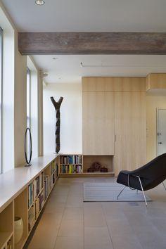 Tribeca Loft - modern - living room - new york - Ann Marie Baranowski Architect PLLC