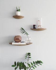 Gridy Fungi Shelf - Medium, Eg Wall, Wood, Inspiration, Floating Shelves, Shelves, Mango Wood, Home Decor, Bowl, Deco
