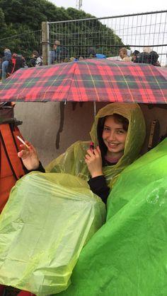 Rainy festival